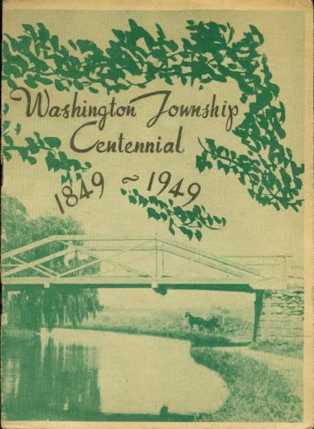Image for WASHINGTON TOWNSHIP CENTENNIAL 1849 - 1949