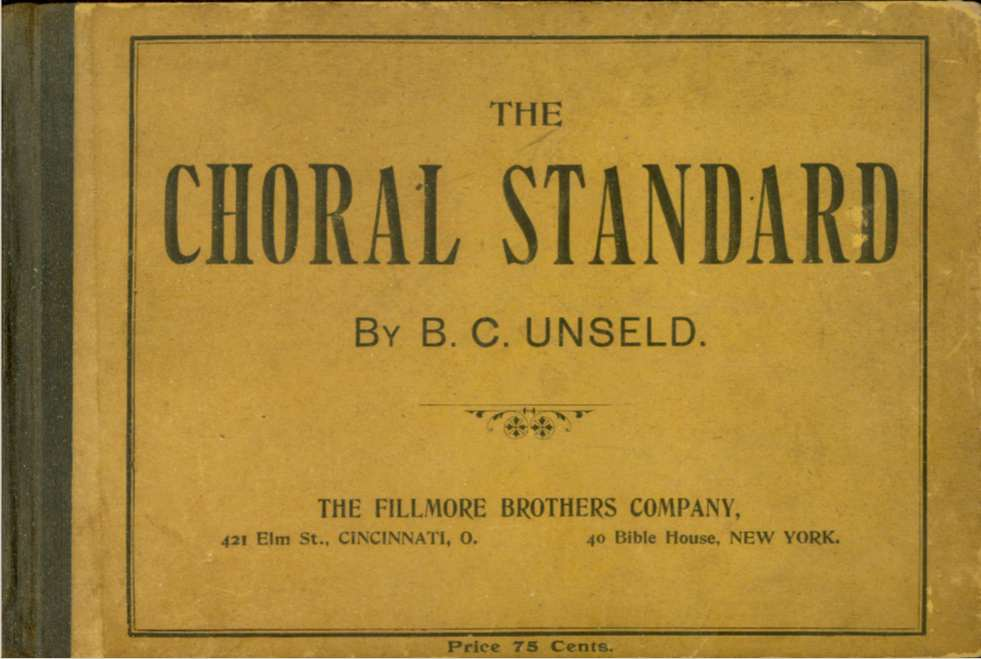 Image for THE CHORAL STANDARD Comprising a Complete Course of Instruction and a Graded Collection of Music : for Singing Schools, Choirs and Conventions