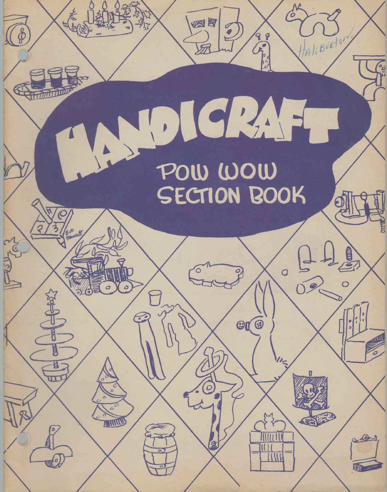 Image for HANDICRAFT Pow Wow Section Book No. 4391 10M655
