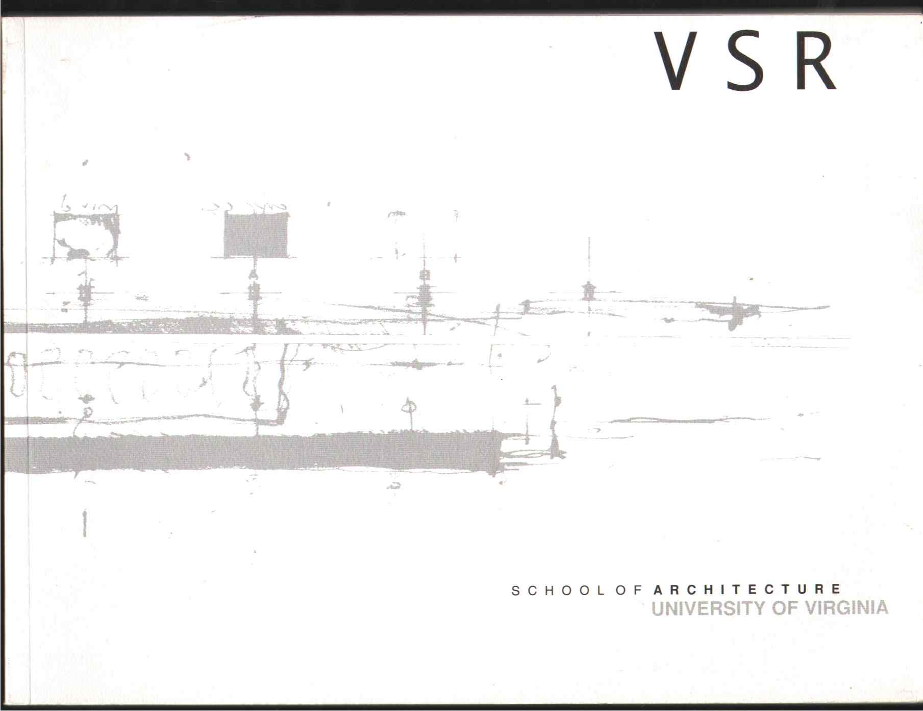 VIRGINIA STUDIO RECORD 1997-1998 Issue, School Of Architecture