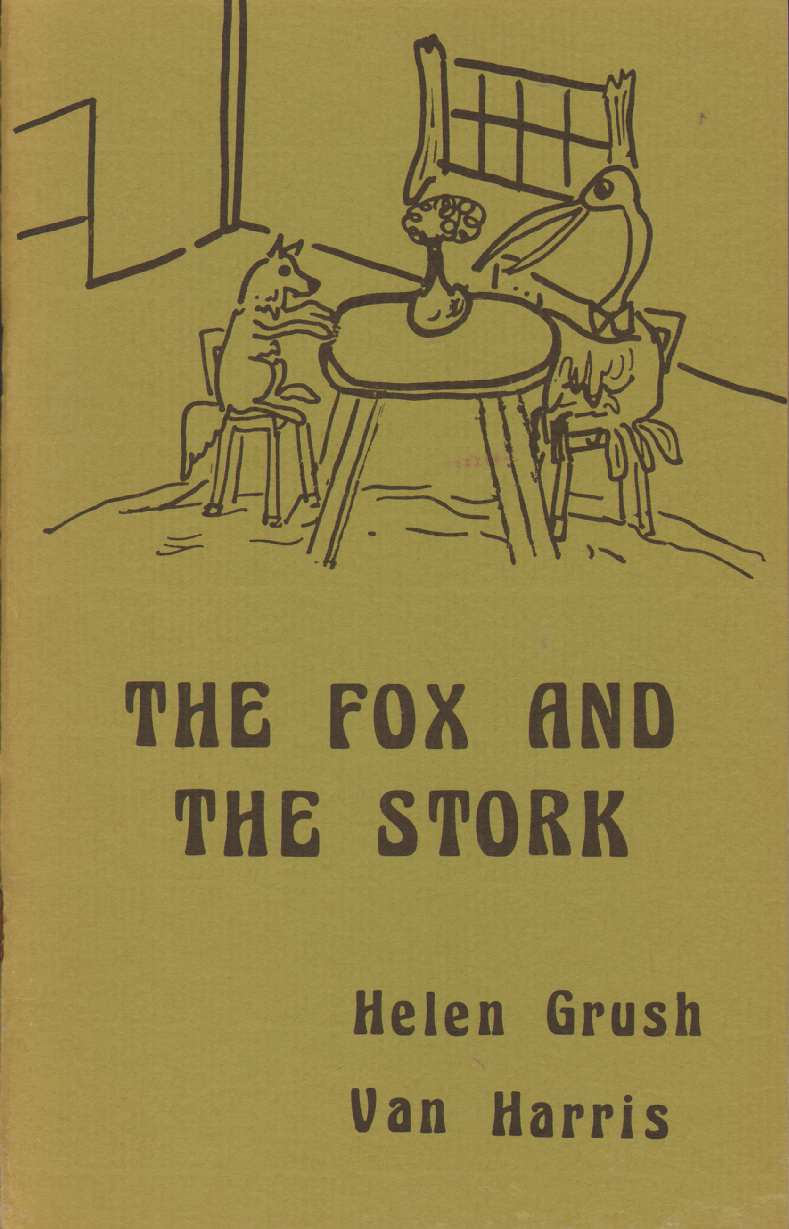Image for THE FOX AND THE STORK Adapted from Aesop