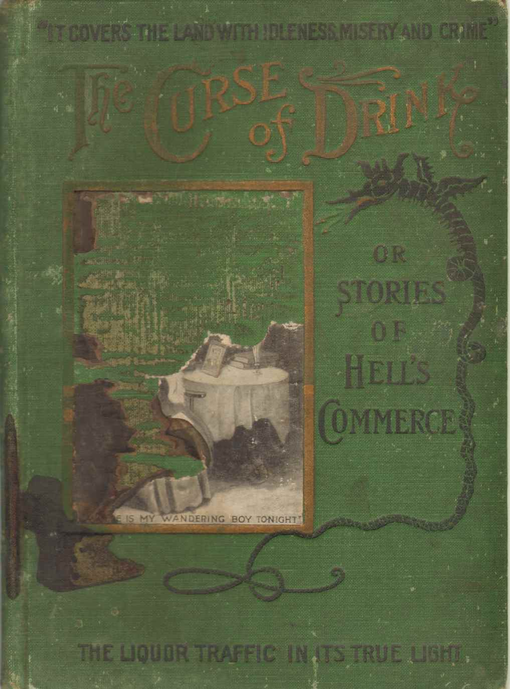 Image for THE CURSE OF DRINK OR, STORIES OF HELL'S COMMERCE Salesman's Sample