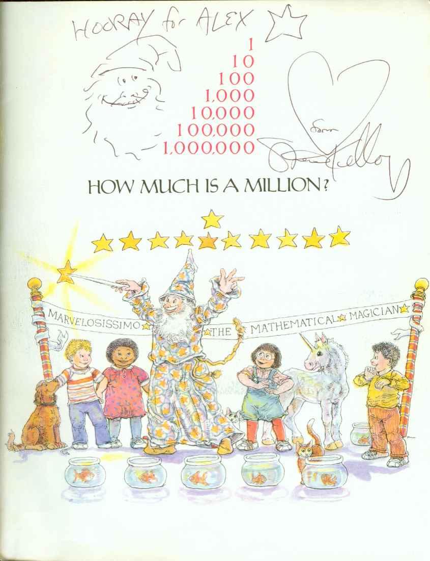 HOW MUCH IS A MILLION?, Schwartz, David M.