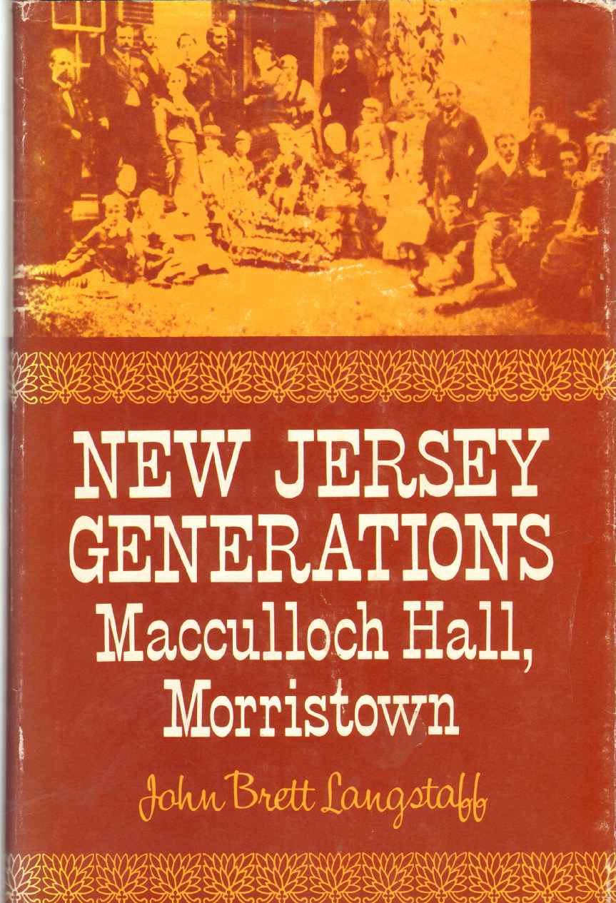 Image for NEW JERSEY GENERATIONS MacCulloch Hall, Morristown