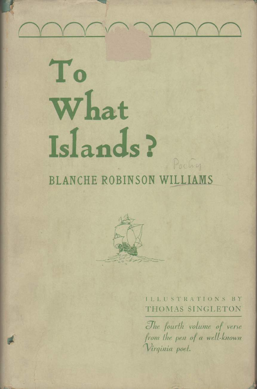 Image for TO WHAT ISLANDS?
