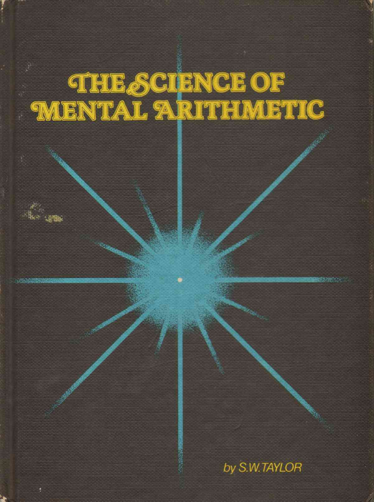 Image for THE SCIENCE OF MENTAL ARITHMETIC