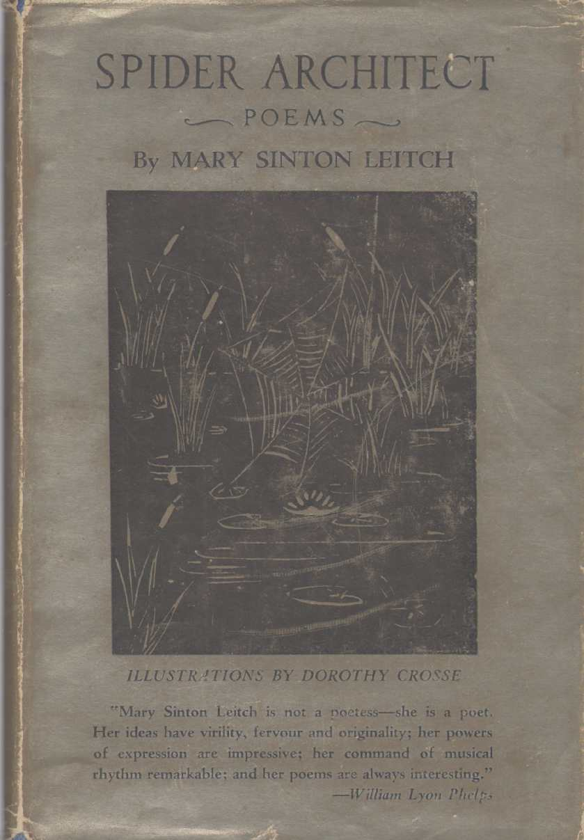 SPIDER ARCHITECT Poems, Leitch, Mary Sinton