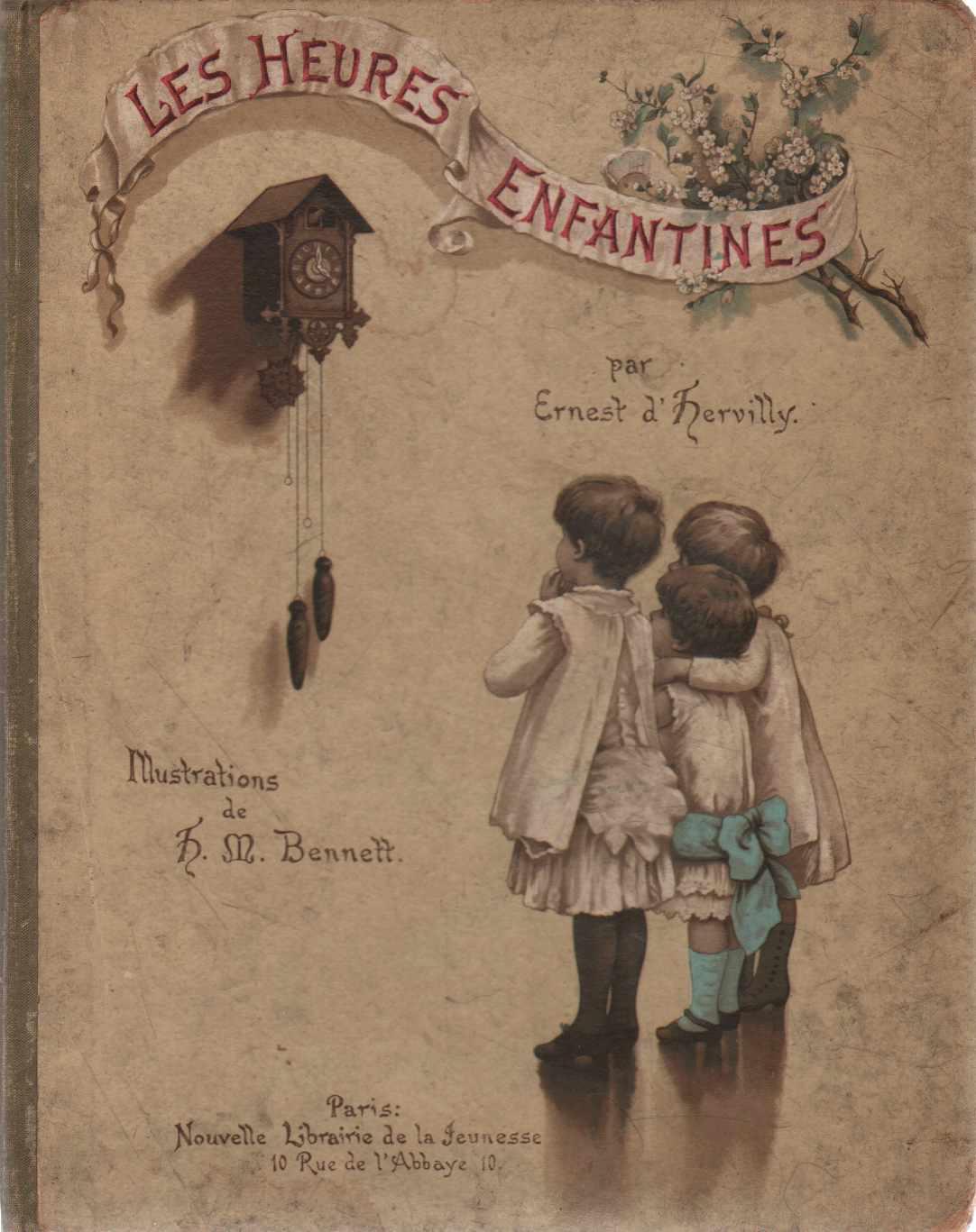 LES HEURES ENFANTINES, D'Hervilly, Ernest