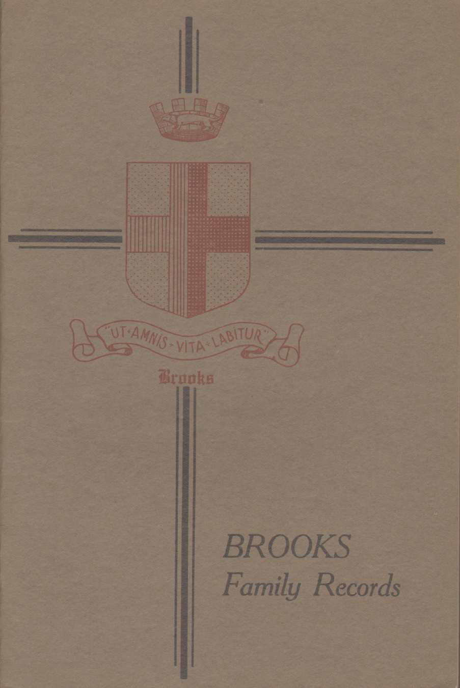 Image for BROOKS FAMILY RECORDS