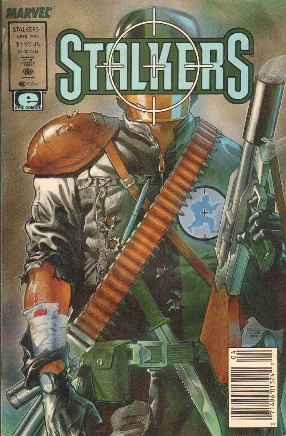 Image for STALKERS ISSUE 1 Motown Madness Part One April 1990