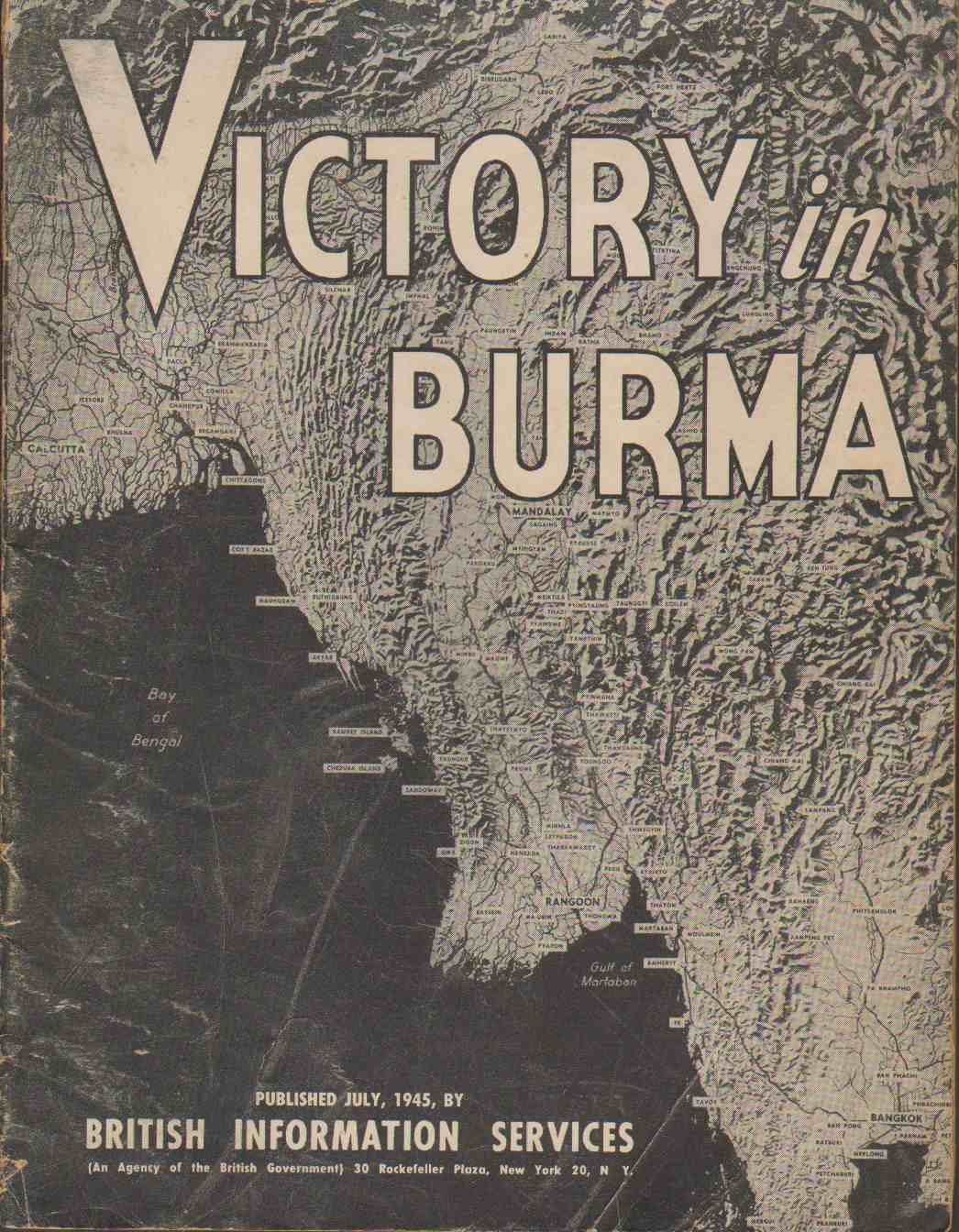 VICTORY IN BURMA, British Information Services