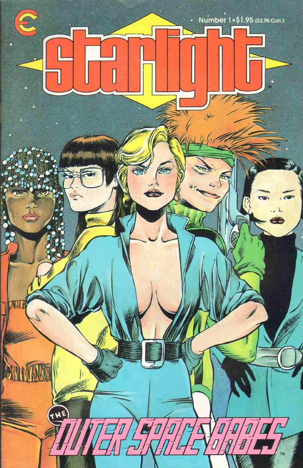 Image for STARLIGHT THE OUTER SPACE BABES #1 October 1987