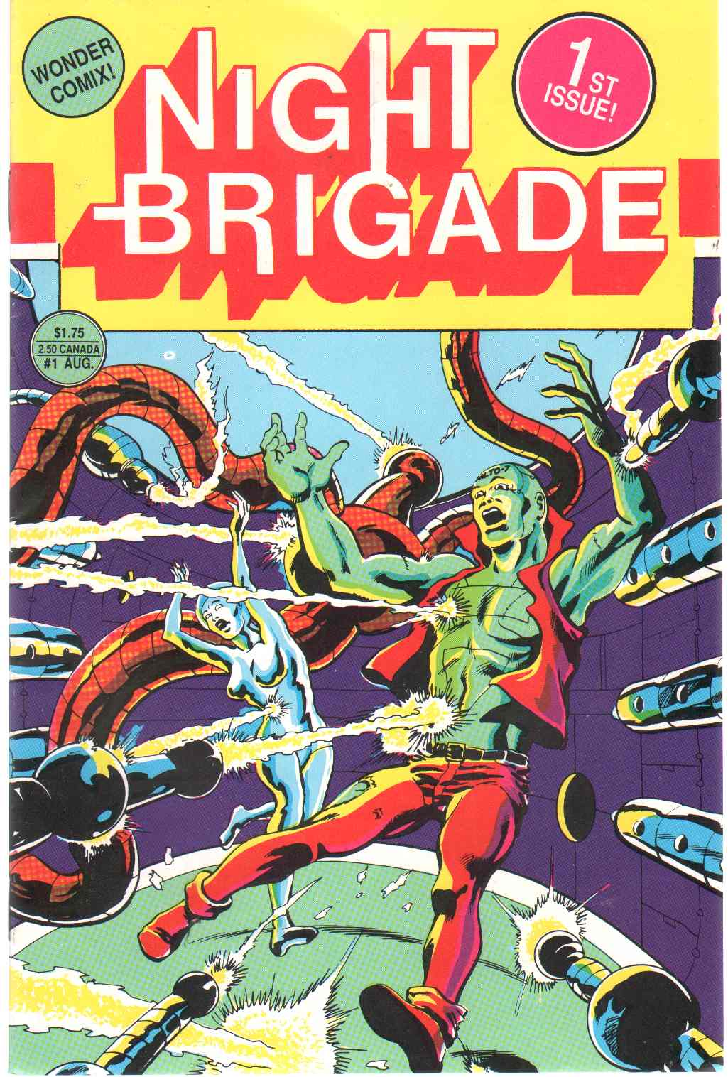 Image for NIGHT BRIGADE Volume 1, Number 1. August 1987