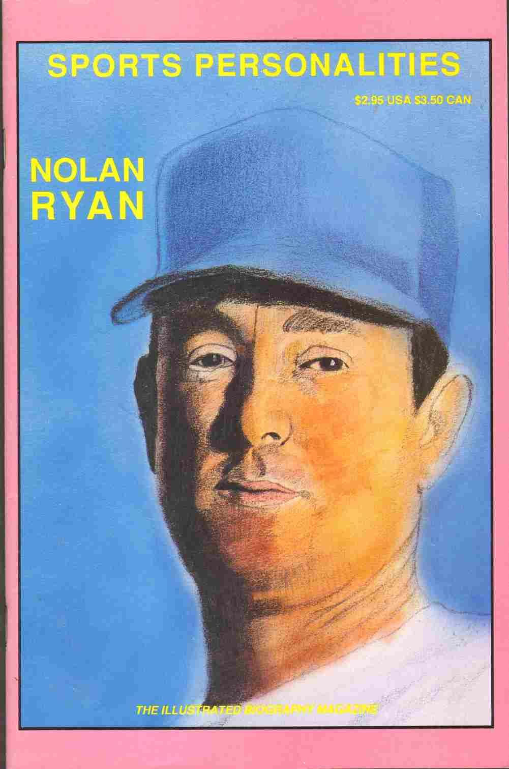 SPORTS PERSONALITIES NOLAN RYAN, Drews, Mary R.
