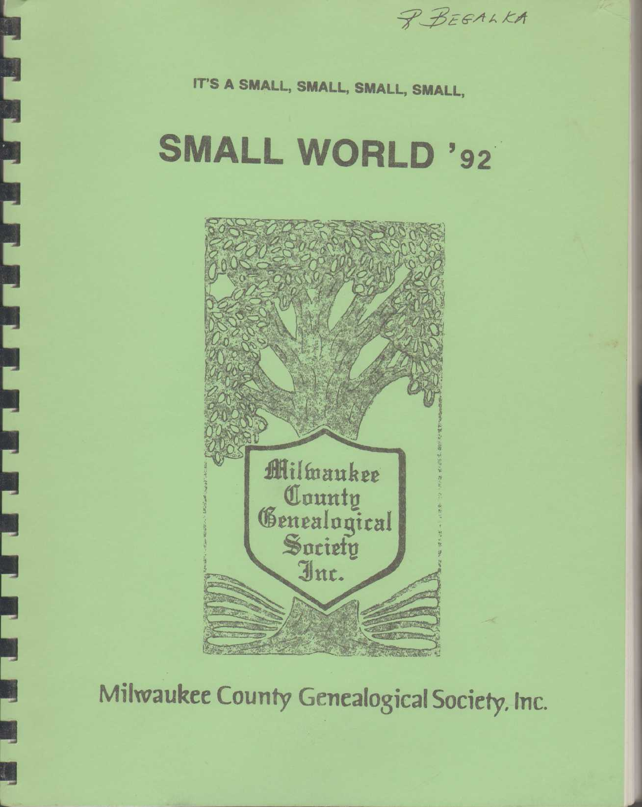 Image for IT'S A SMALL, SMALL, SMALL, SMALL, SMALL WORLD '92