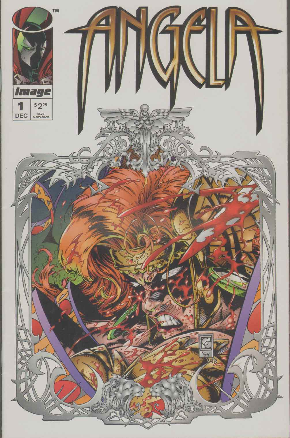 ANGELA  (1994) #1 Does Not Include Pinup., Gaiman, Neil