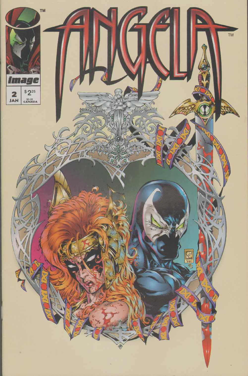 ANGELA  (1995) #2 Does Not Include Pinup., Gaiman, Neil