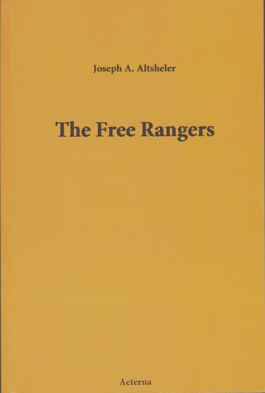 Image for THE FREE RANGERS