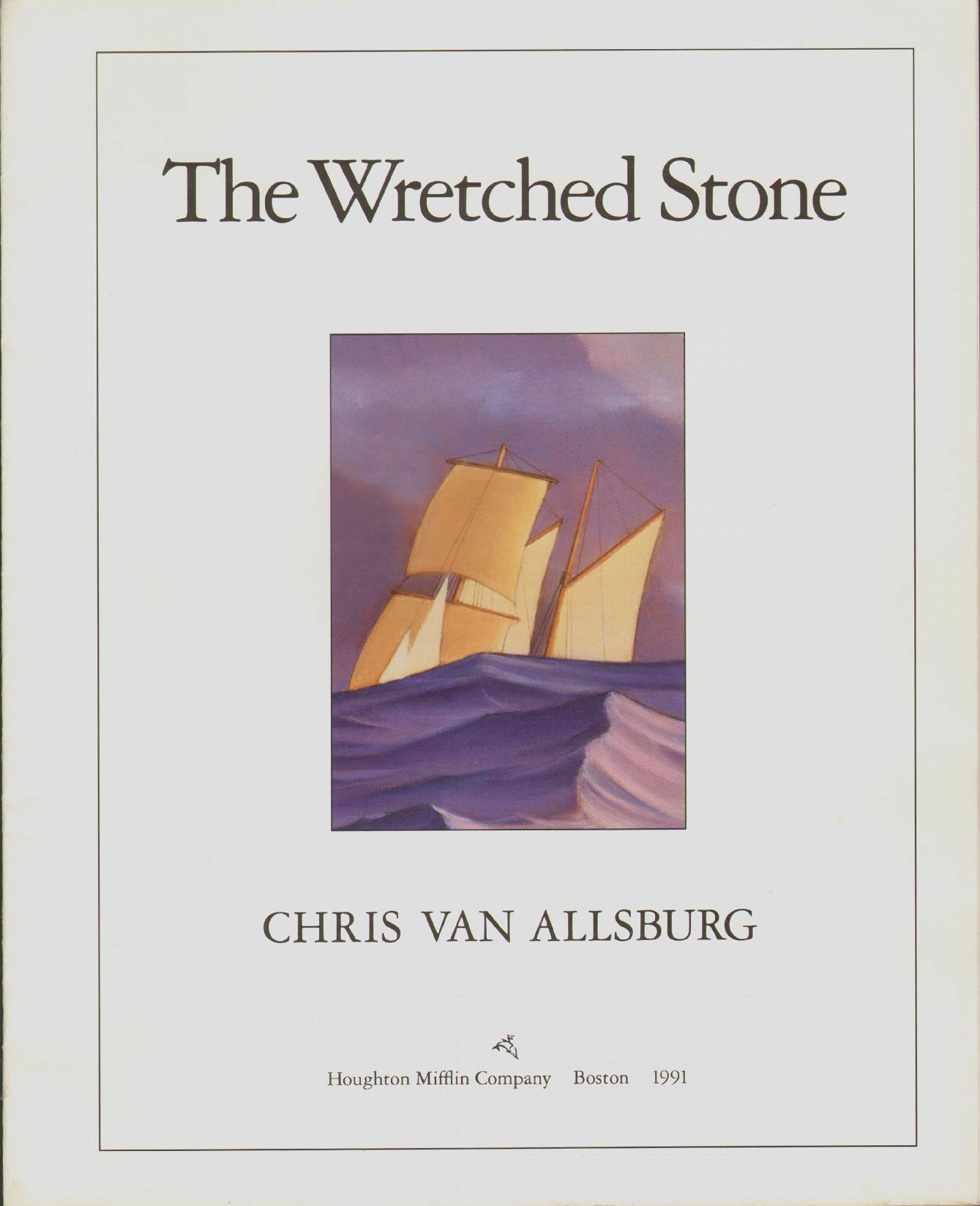 Image for THE WRETCHED STONE