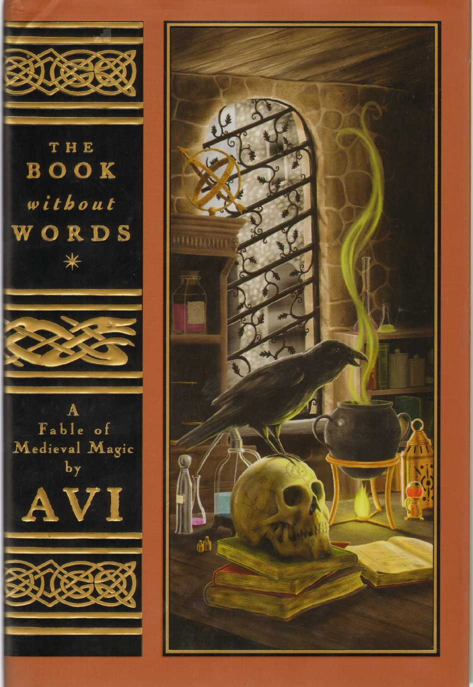THE BOOK WITHOUT WORDS A Fable of Medieval Magic, Avi