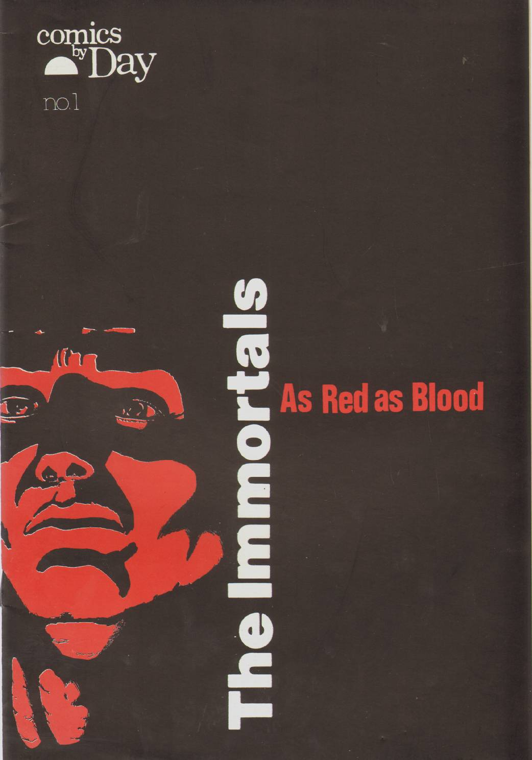 THE IMMORTALS AS RED AS BLOOD NO. 1, Day, Brant
