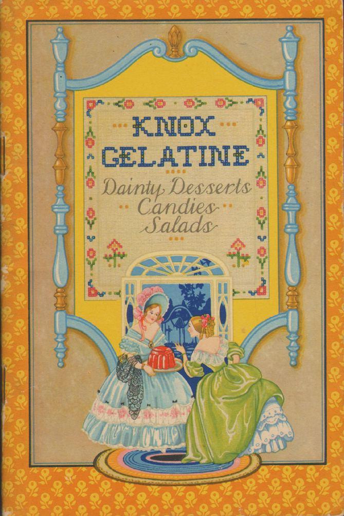 KNOX SPARKLING GRANULATED GELATINE - Dainty Desserts, Candies, Salads