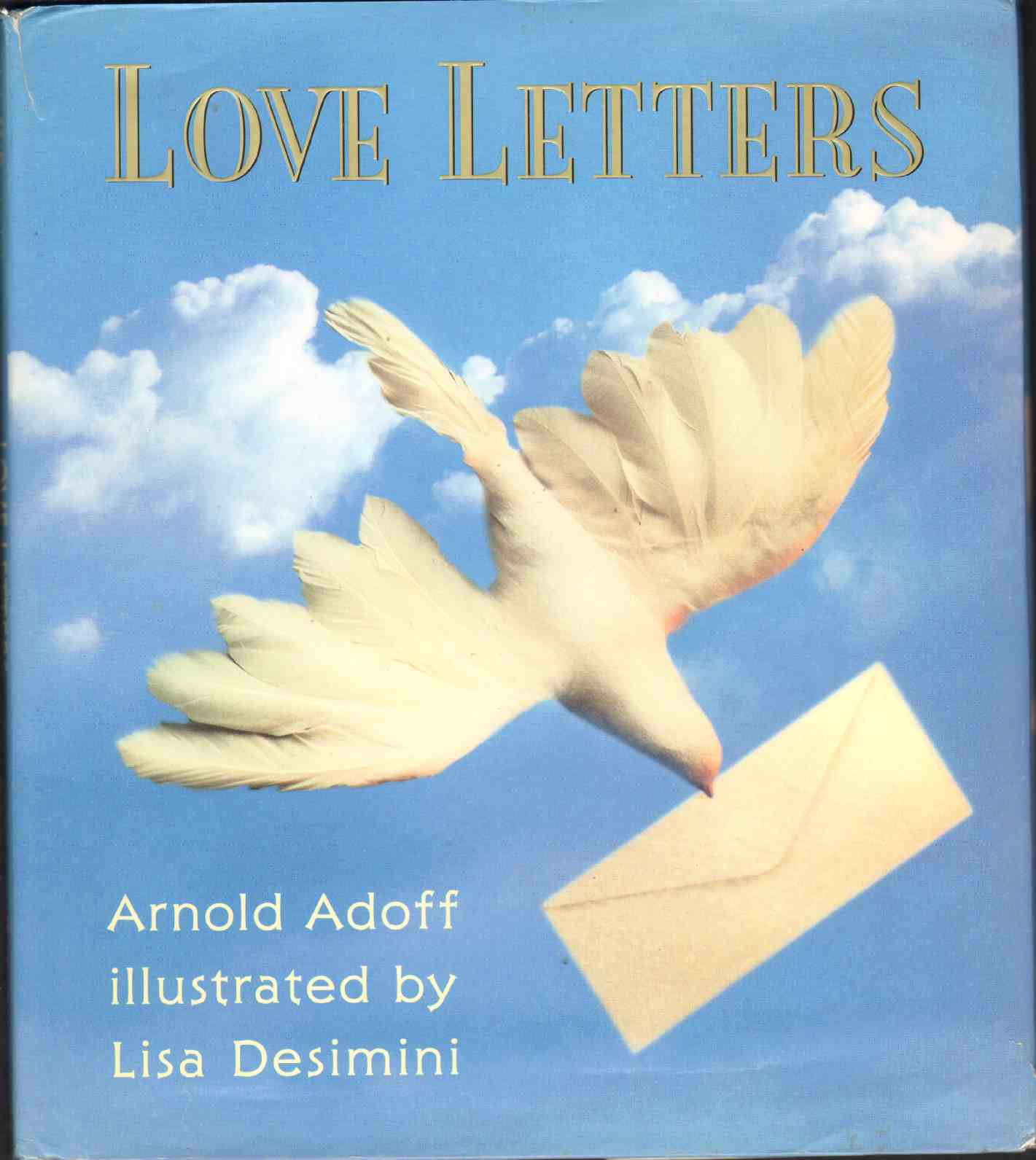 LOVE LETTERS, Adoff, Arnold