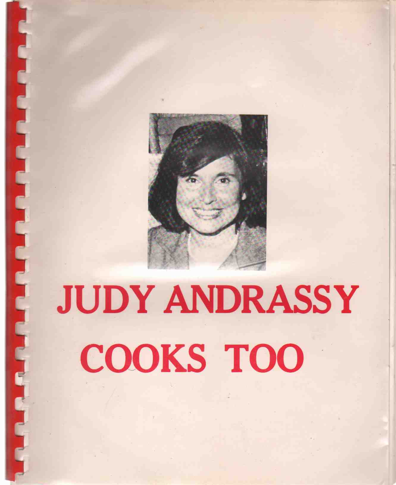 Image for JUDY ANDRASSY COOKS TOO