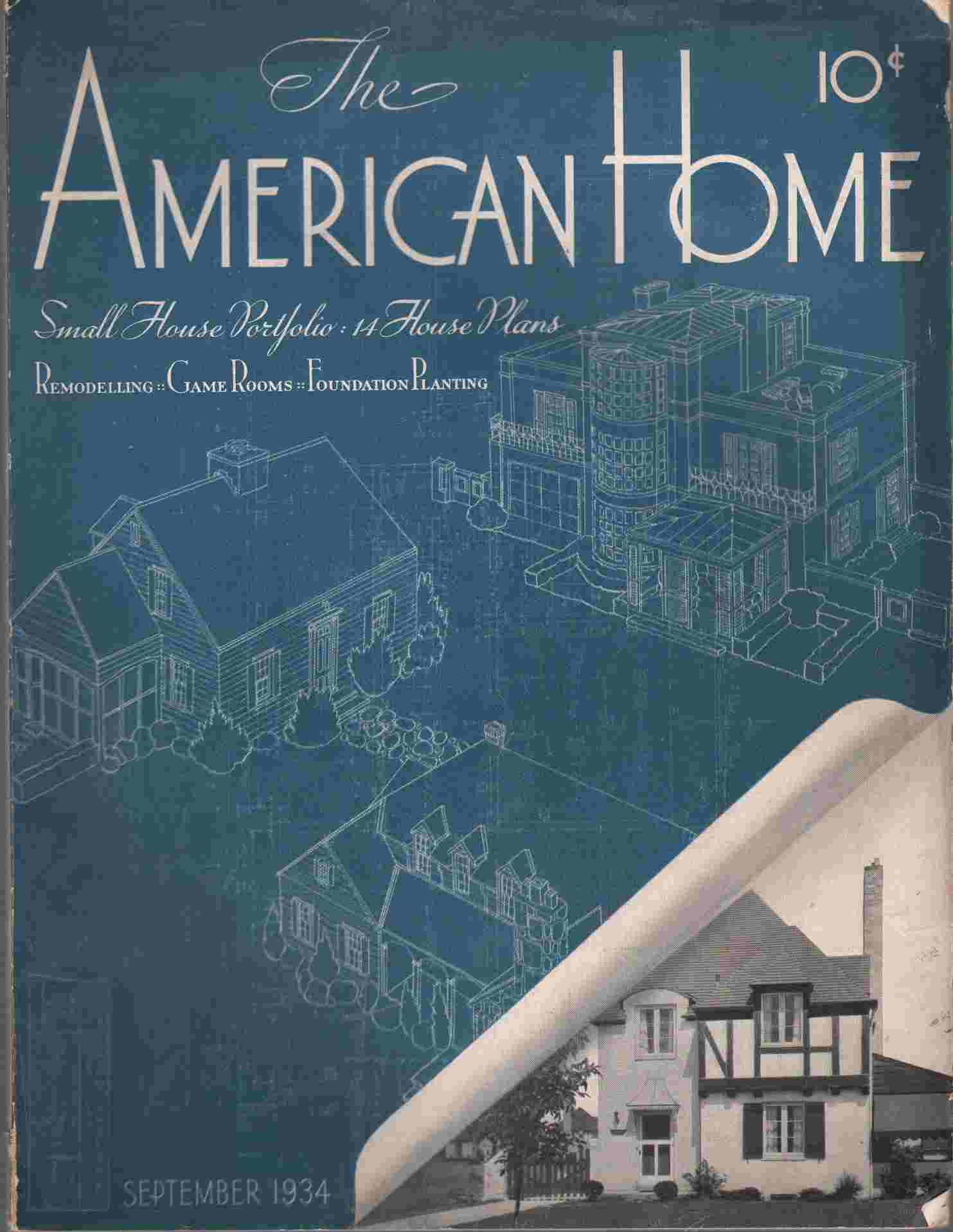 Image for THE AMERICAN HOME   Volume XII, Number 4 September 1934