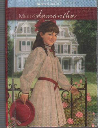 MEET SAMANTHA An American Girl Miniature Book, Adler, Susan S.