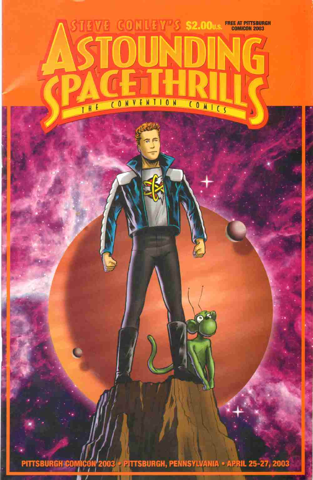 STEVE CONLEY'S ASTOUNDING SPACE THRILLS The Convention Comics No. 2, Conley, Steve
