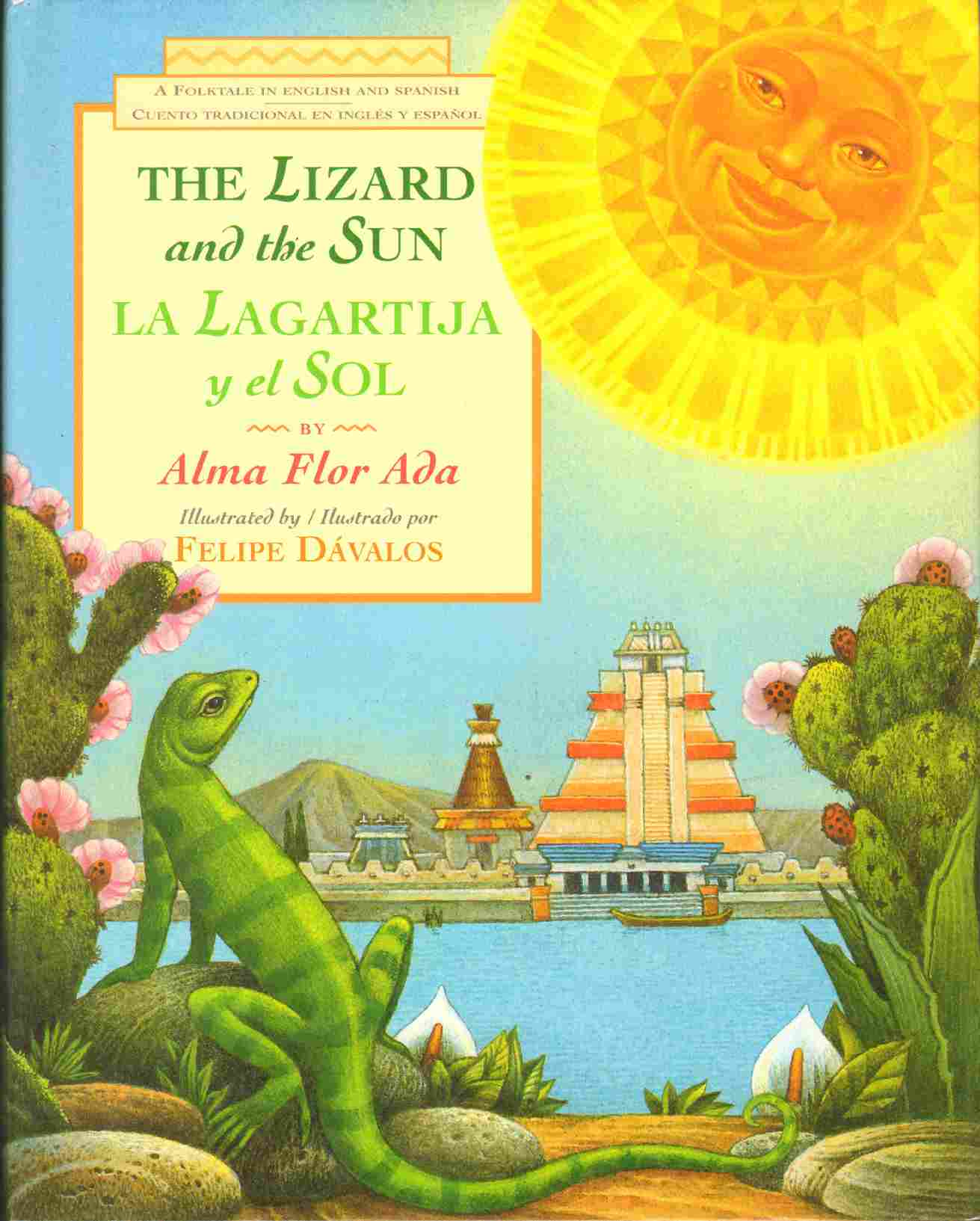 Image for LA LAGARTIJA Y EL SOL / THE LIZARD AND THE SUN A Folktale in English and Spanish
