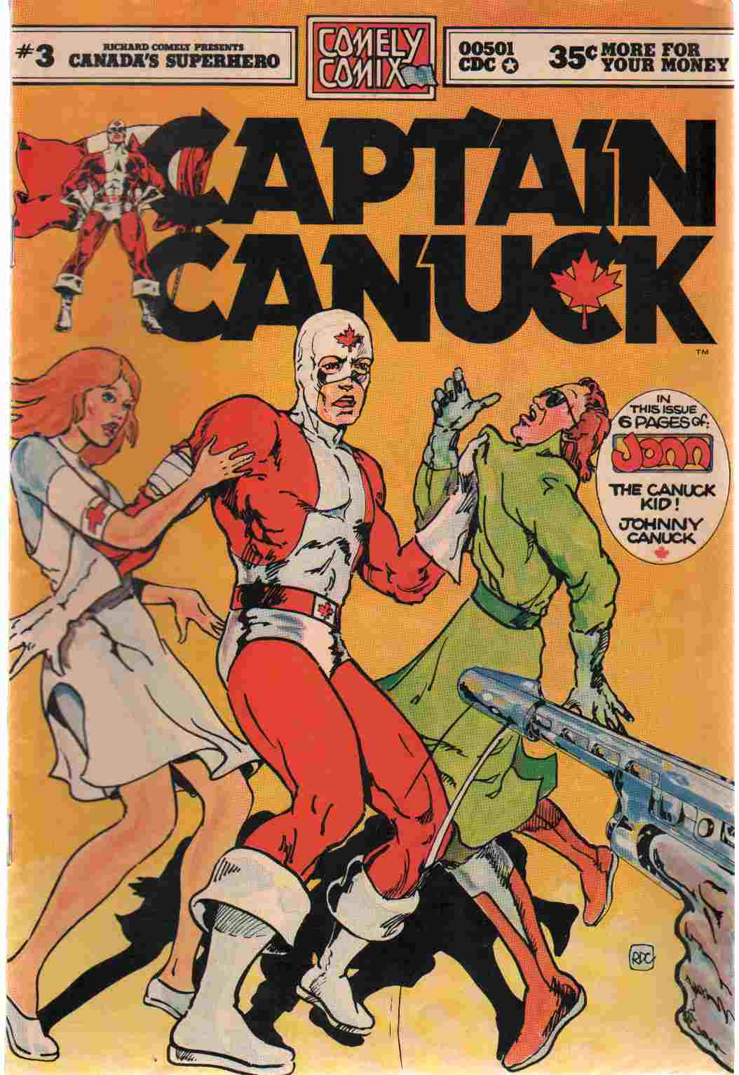 CAPTAIN CANUCK NO 3, Comely, Richard