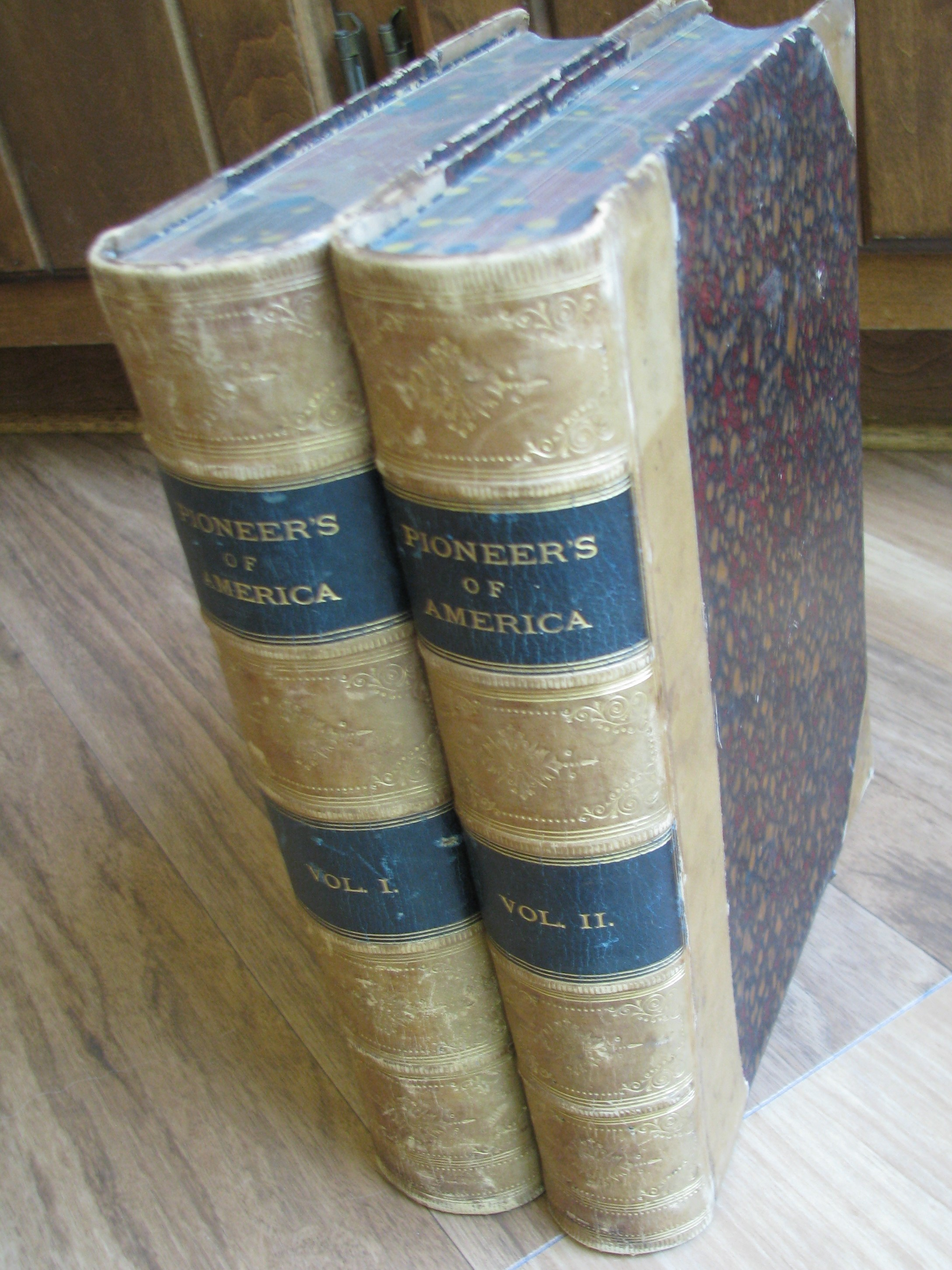 Image for Pioneers In The Settlement Of America: From Florida In 1510 To California In 1849 (2 Volume Set)