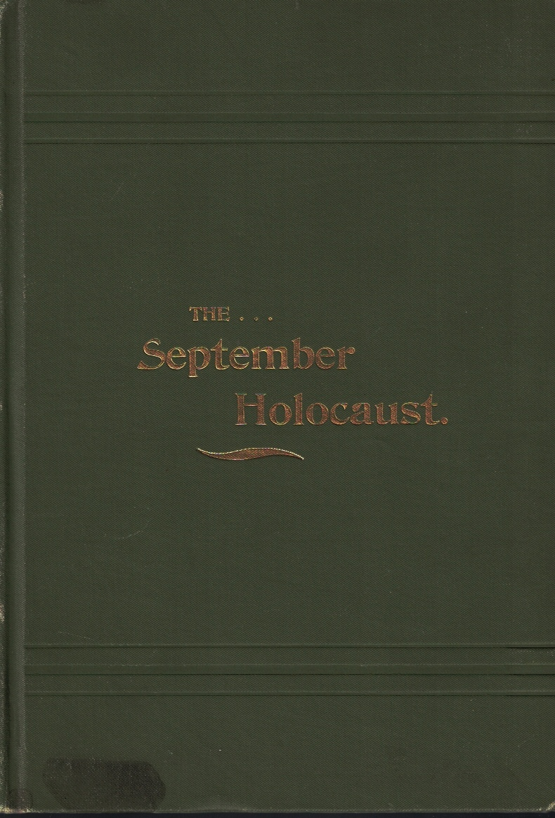 Image for The September Holocaust: A Record of the Great Forest Fire of 1894