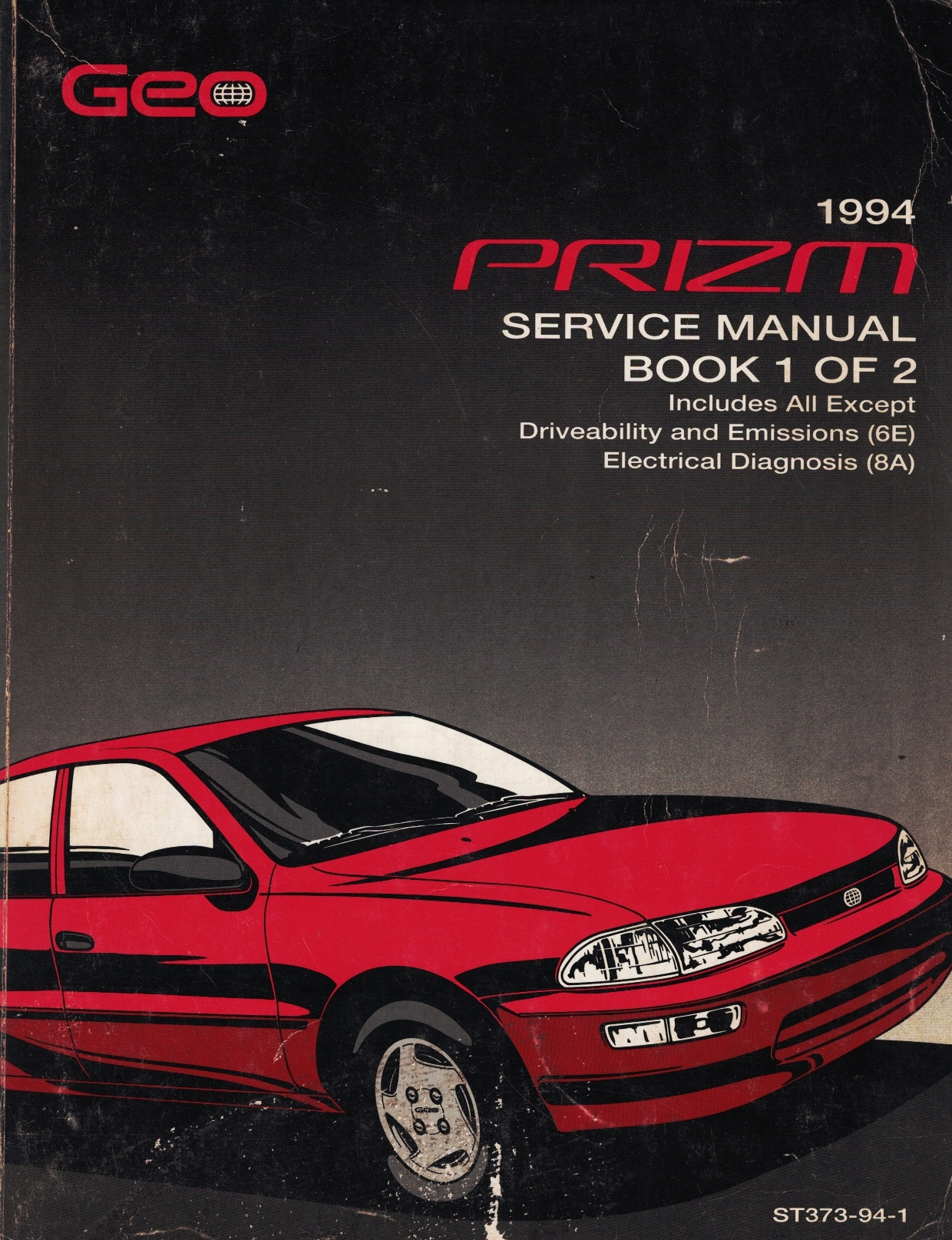 Image for 1994 Geo Prizm Service Manual (2 Volume Set)