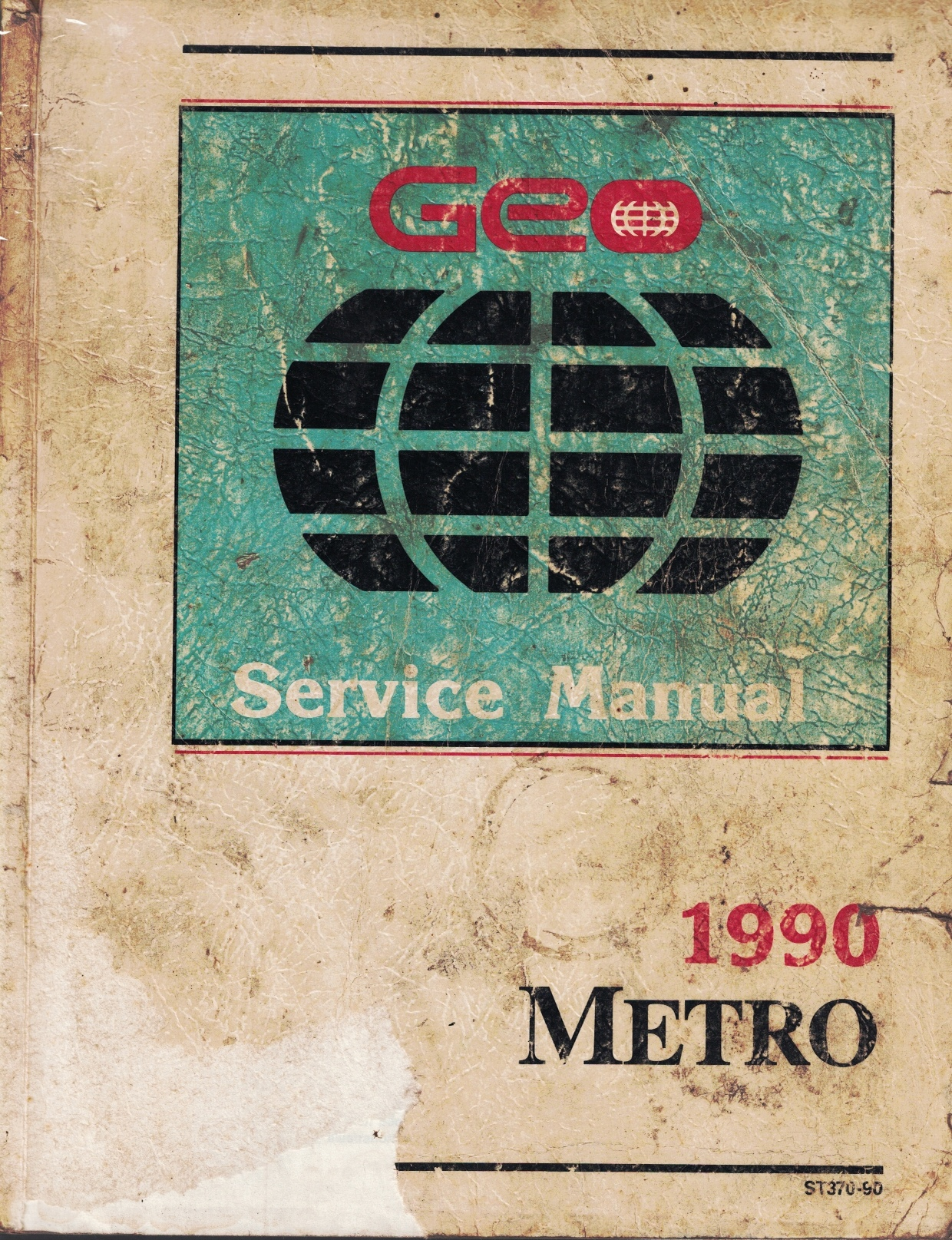 Image for 1990 Geo Metro Service Manual - 3 Volume Set - Includes the Service Manual, the Service Manual Supplement, and the Electrical Diagnosis Manual Supplement