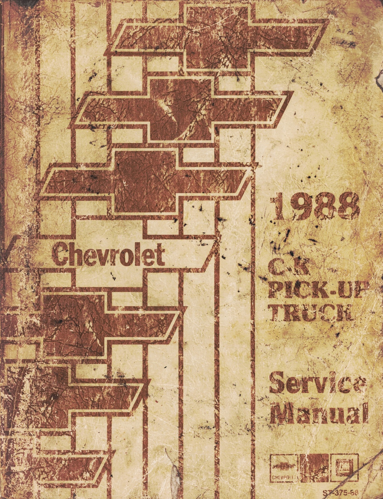 "Image for 1988 Chevrolet C-K Pick-Up Truck Service Manual - 3 Volume Set; includes the ""Service Manual"", the ""Electrical Diagnosis Service Manual Supplement"", and the ""Light Duty Truck Fuel and Emissions Service Manual Supplement"""
