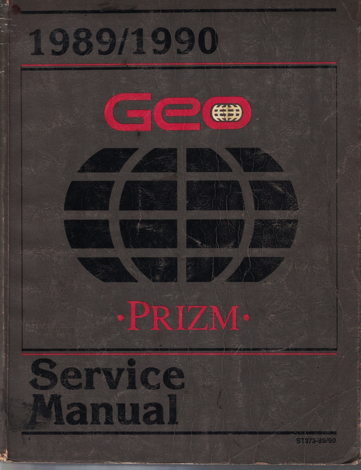 "Image for 1989 / 1990 Geo Prizm Service Manual - 2 Volume Set; includes the ""Service Manual"", and the ""Electrical Diagnosis Service Manual Supplement"""