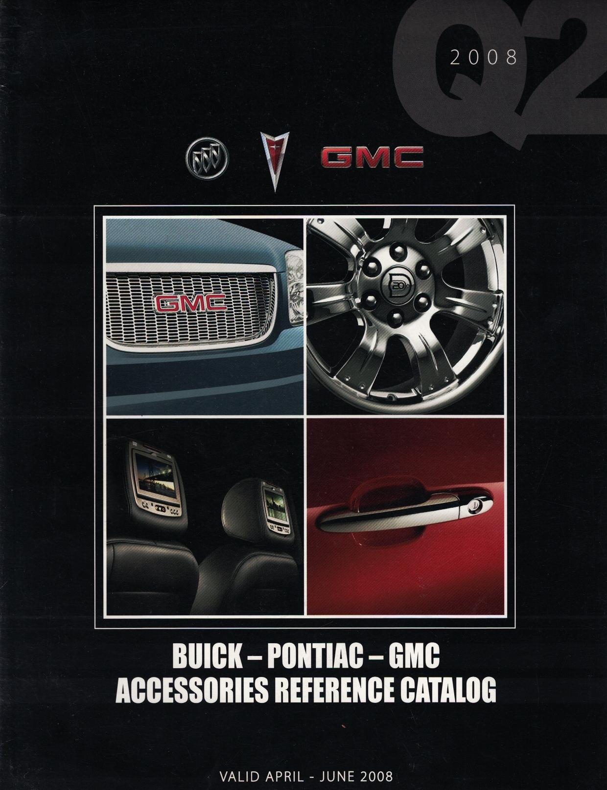 Image for 2008 Second Quarter (Q2) Buick - Pontiac - GMC Accessories Reference Catalog