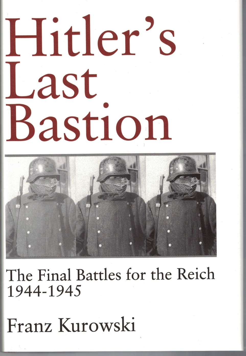 Image for Hitlers Last Bastion The Final Battles for the Reich 1944-1945