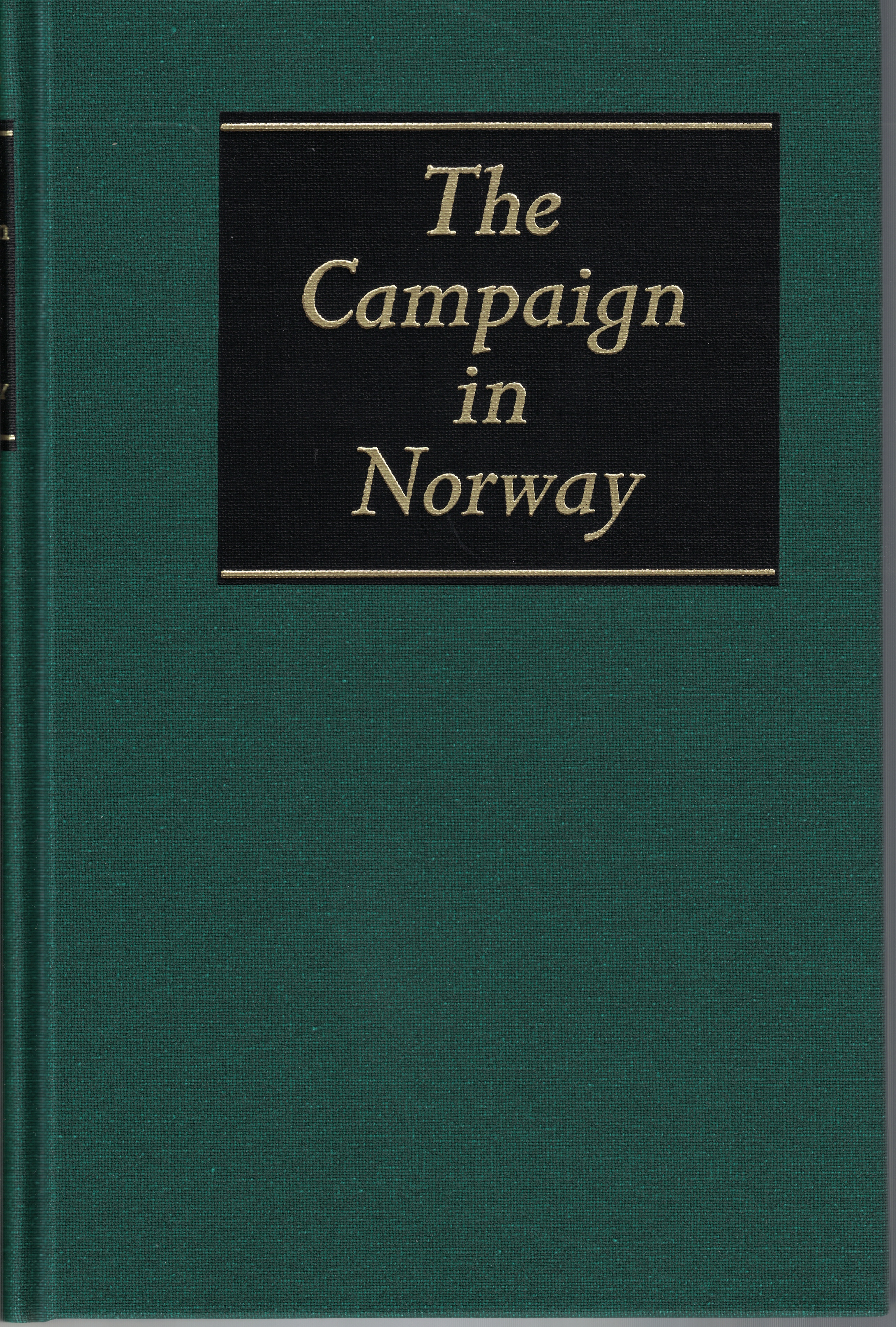 Image for The Campaign in Norway [History of the Second World War - United Kingdom Military Series]
