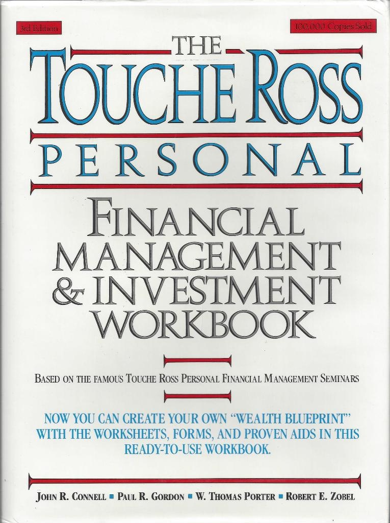 Image for The Touche Ross Personal Financial Management and Investment Workbook Third Edition