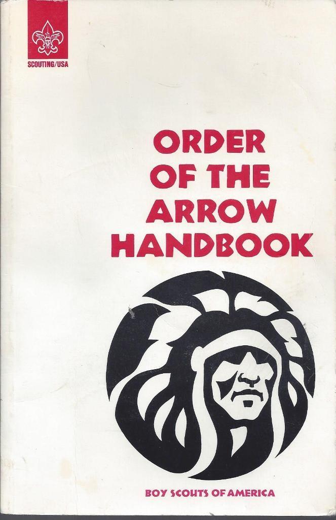Order of the Arrow Handbook, Boy Scouts Of America