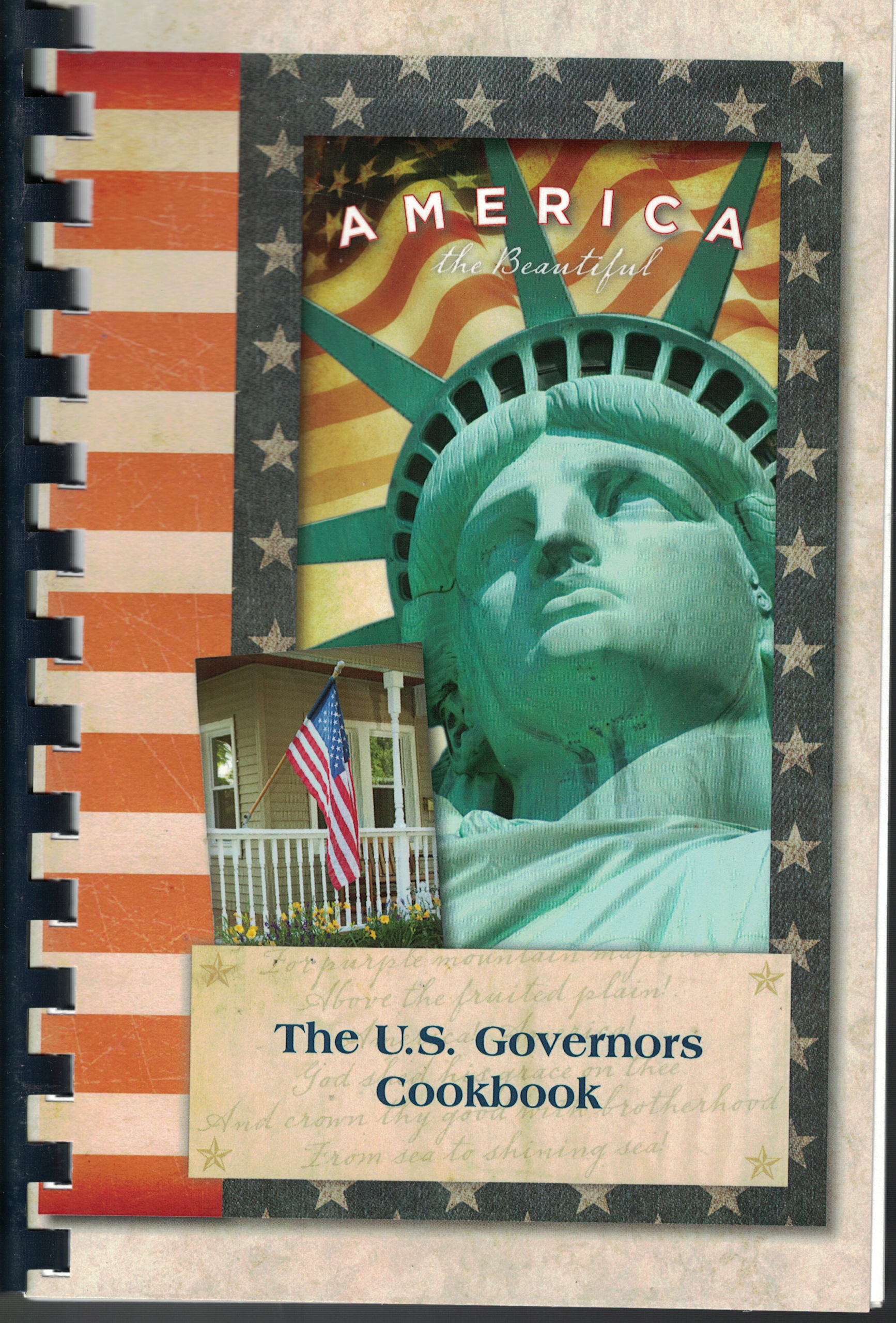 Image for The U. S. Governors Cookbook America the Beatiful