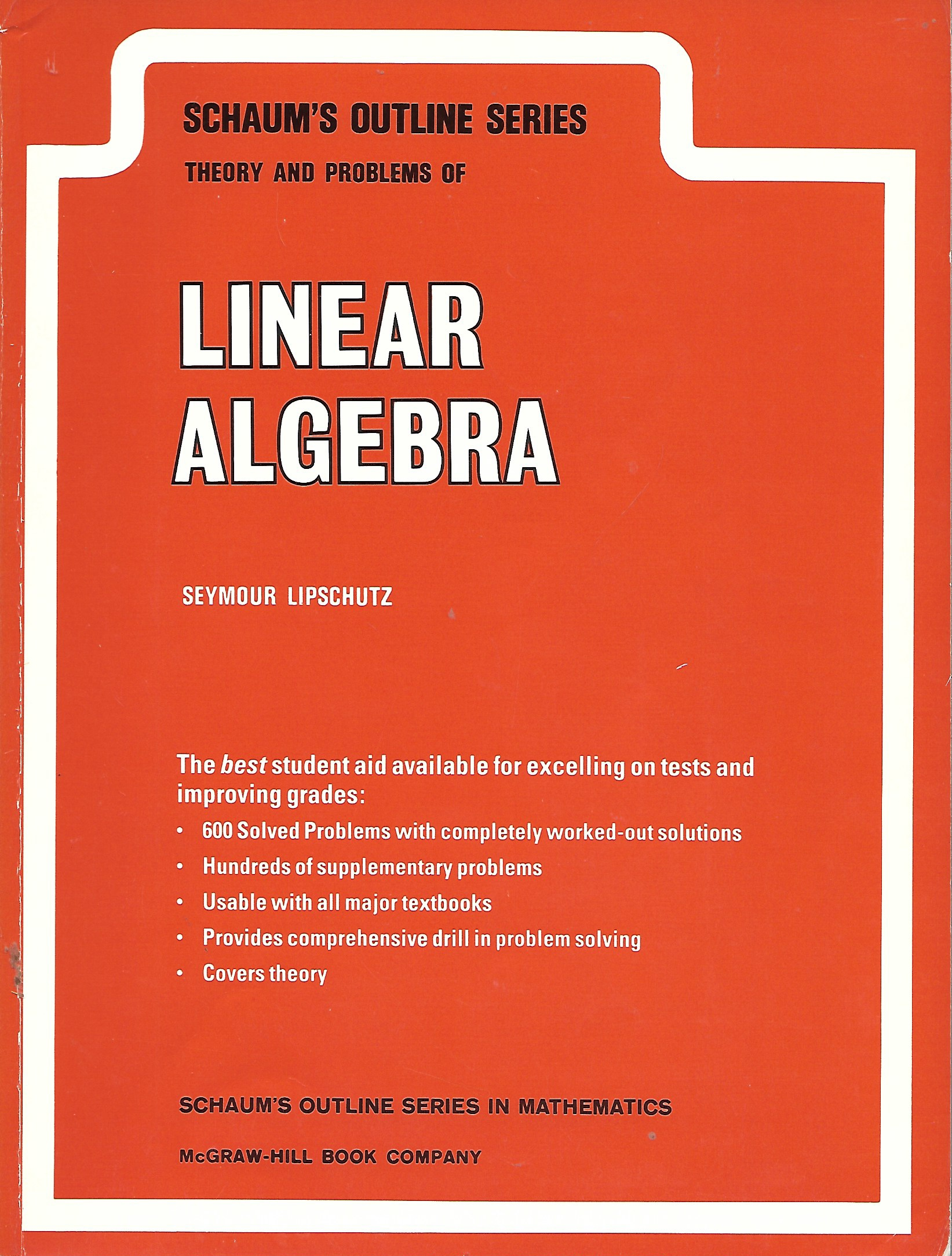Image for Linear Algebra Theory and Problems