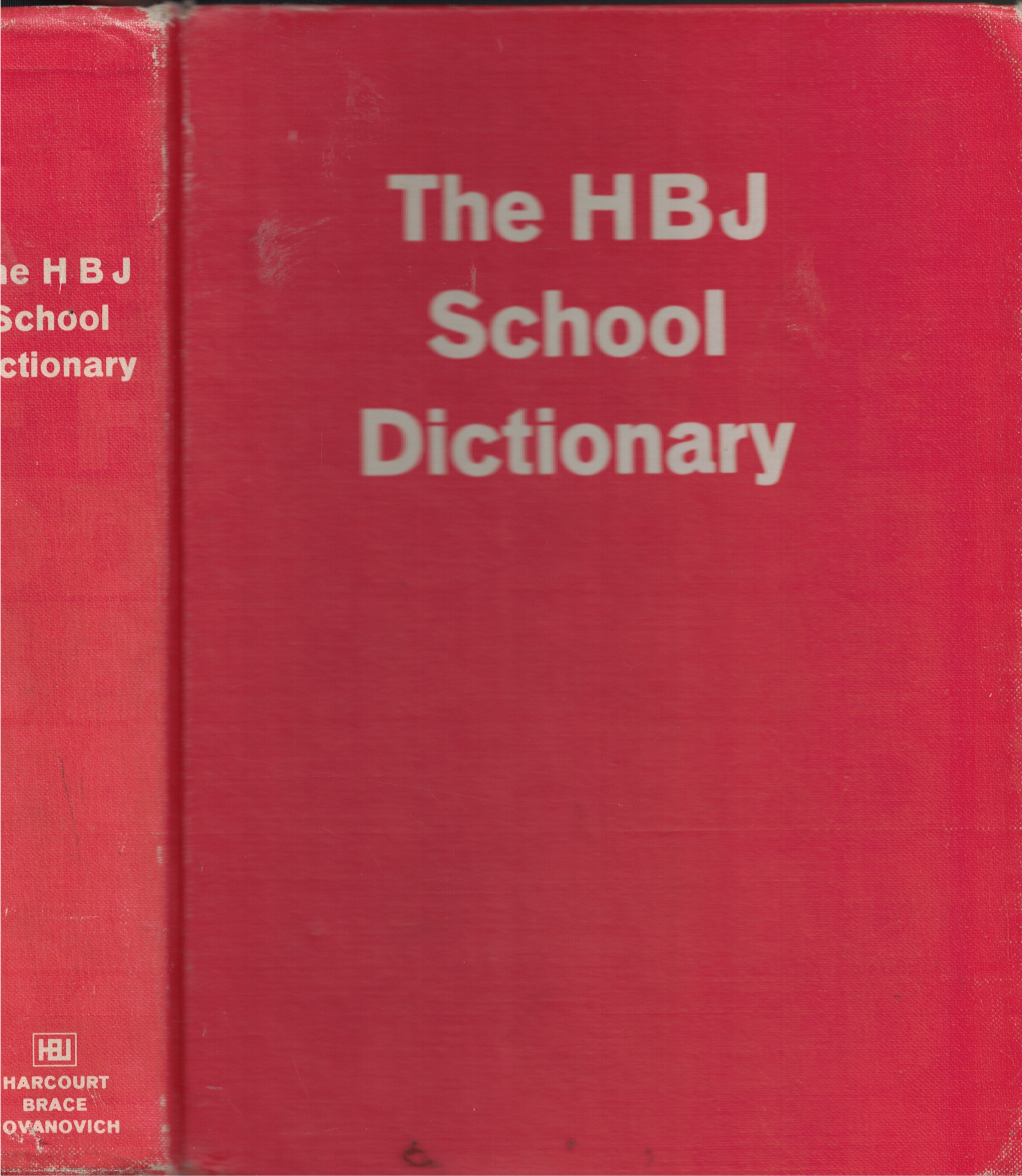 Image for H B J School Dictionary