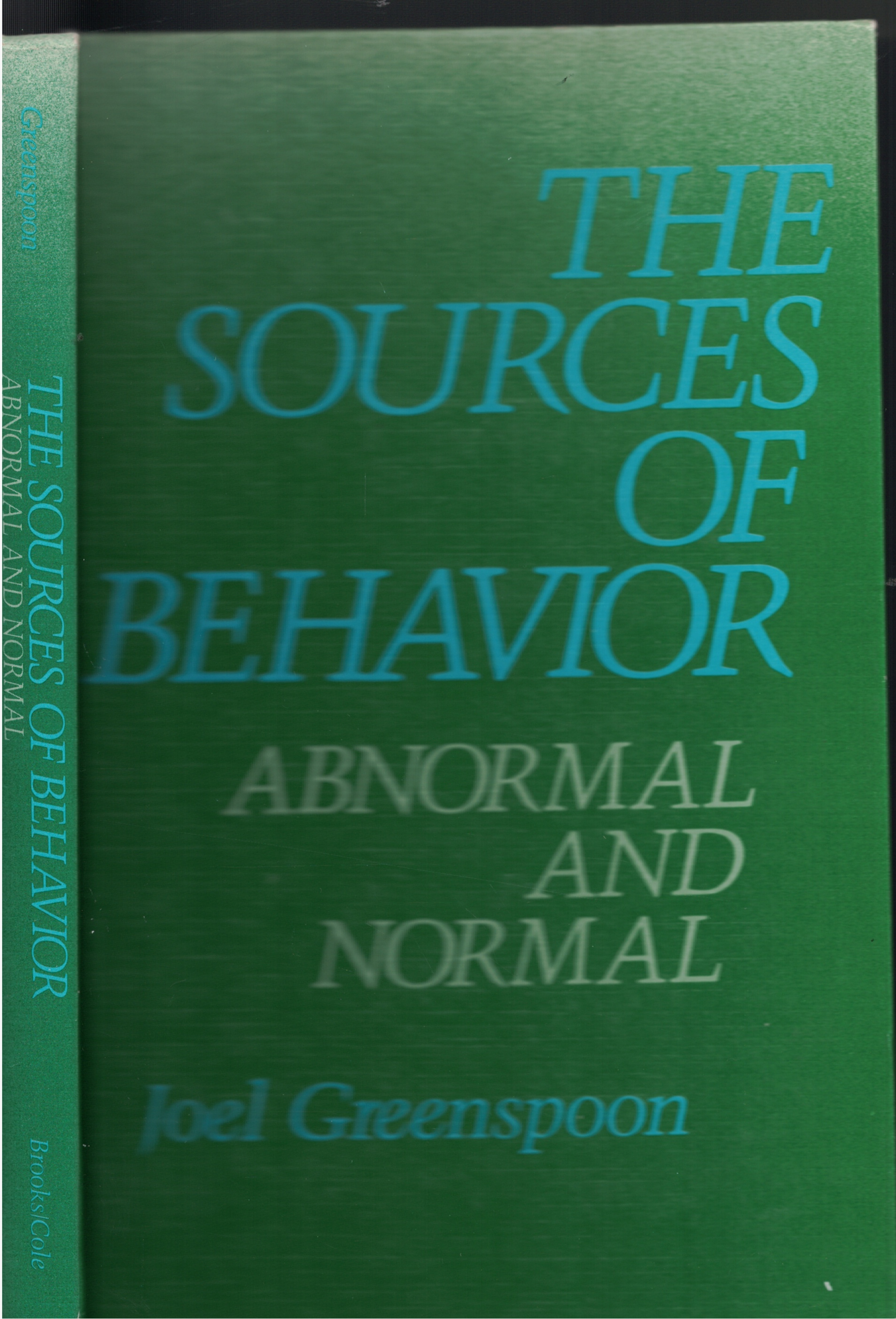 Image for Sources Of Behavior Abnormal and Normal