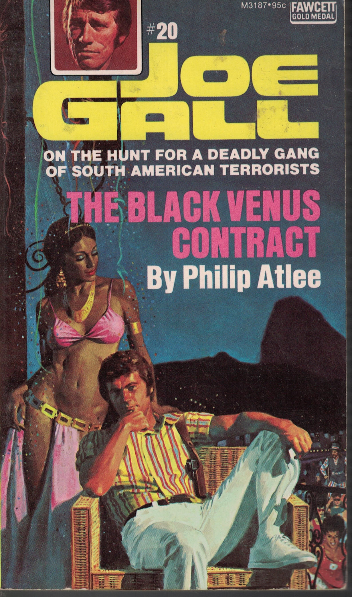 Image for Black Venus Contract hunt for a deadly gang of south american terrorists