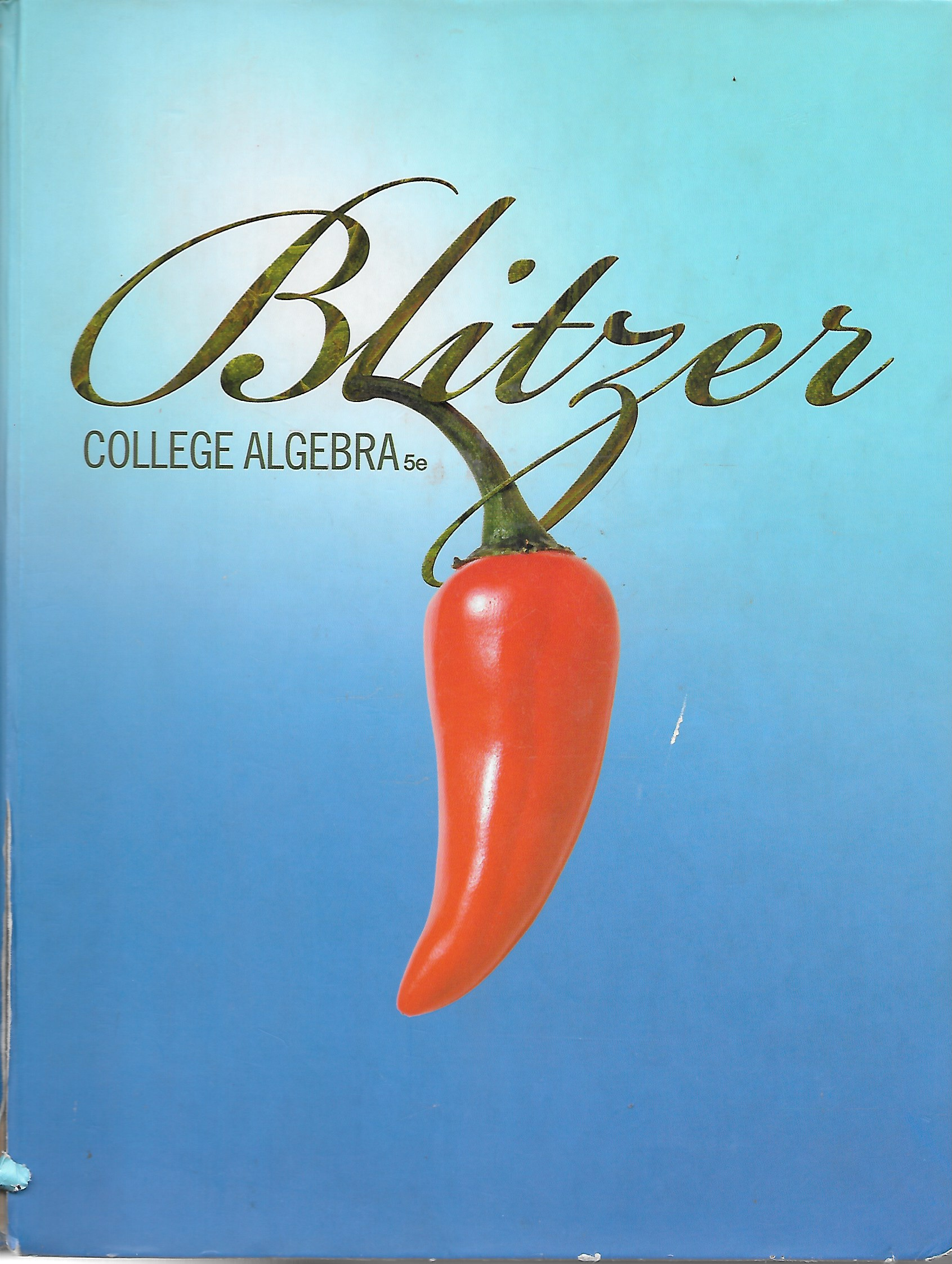 Image for Blitzer College Algebra